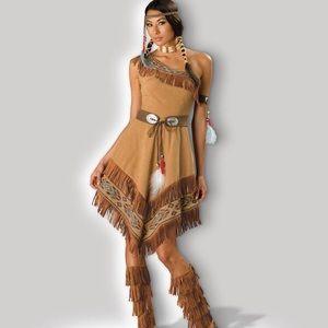 InCharacter women's Indian Maiden costume